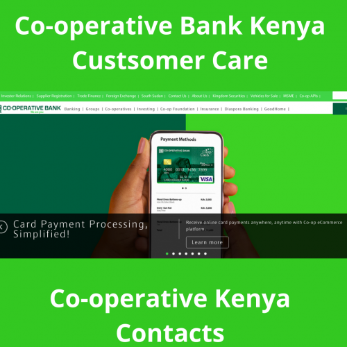 Co-operative Bank Kenya Customer Care