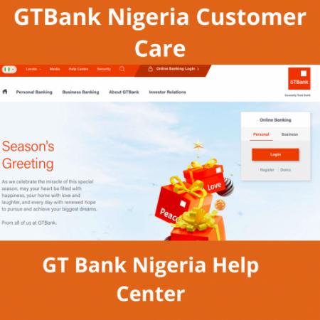 GTBank Nigeria Customer Care