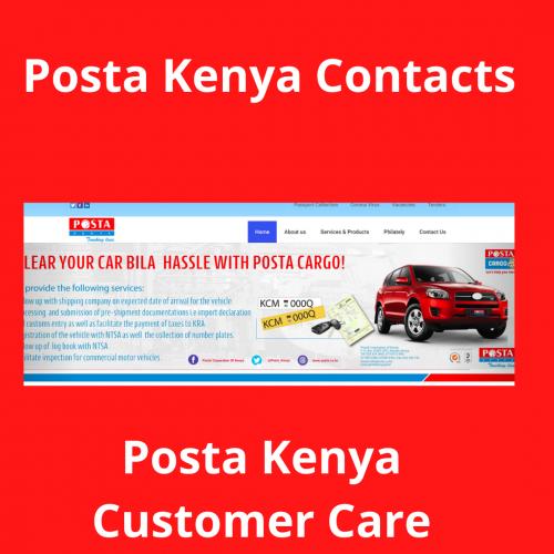 Posta Kenya Contacts