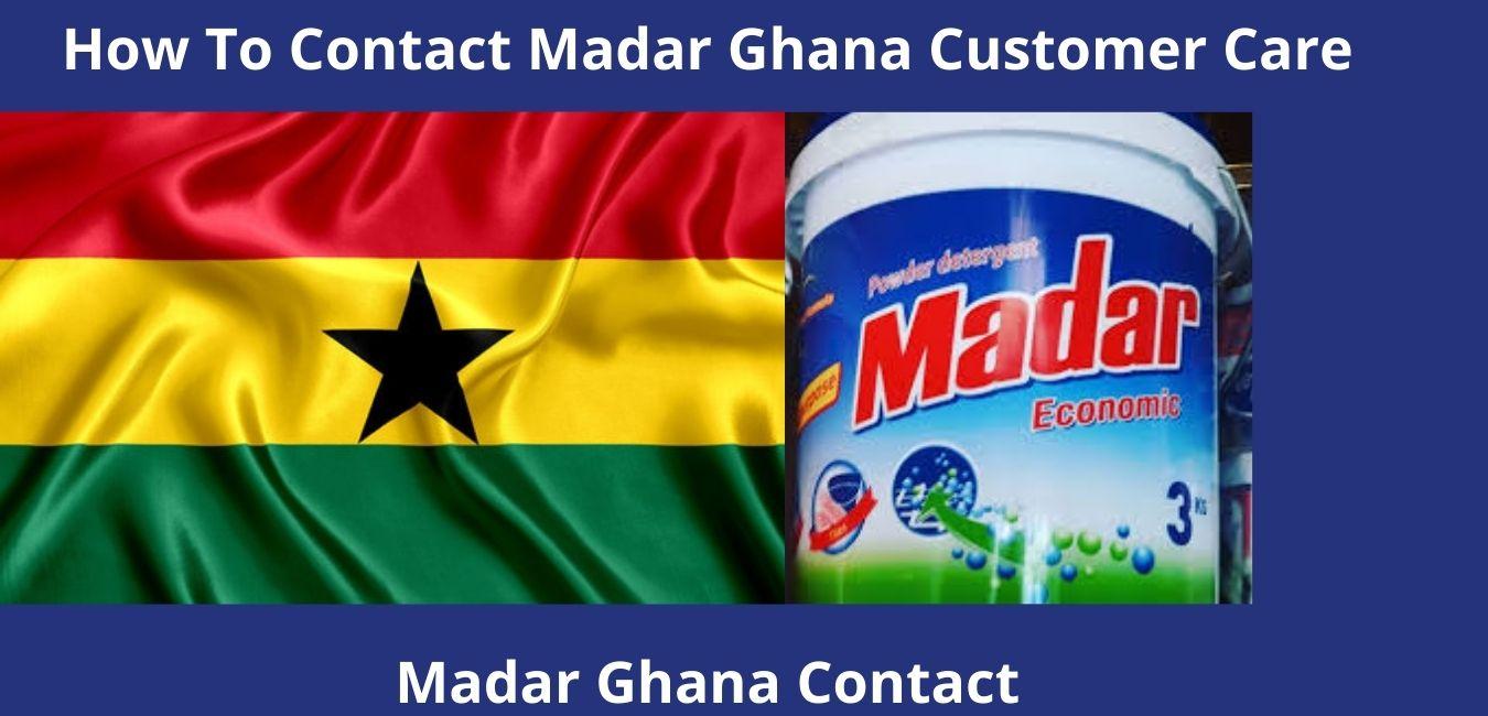 How To Contact Madar Ghana Customer Care